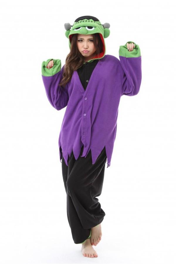 a096ddf90e3d Frankenstein Kigurumi Halloween Costumes - Animal Onesies Pajamas ...