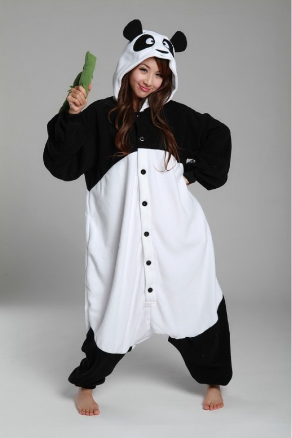 7b0508cb02 Kung Fu Panda Kigurumi - Animal Onesies Pajamas for Adult   Kids