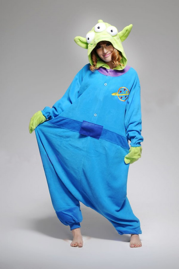 a2edbcfe64f0 Little Green Men Funny Onesie - Animal Onesies Pajamas for Adult   Kids