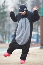 Black Dragon Kigurumi 2016 Animal Pajamas