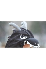 Black Dragon Kigurumi 2016 Animal Pajamas