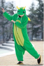 Green Dragon Kigurumi 2016 Animal Pajamas