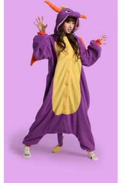 Royal Spyro Dragon Kigurumi Onesie