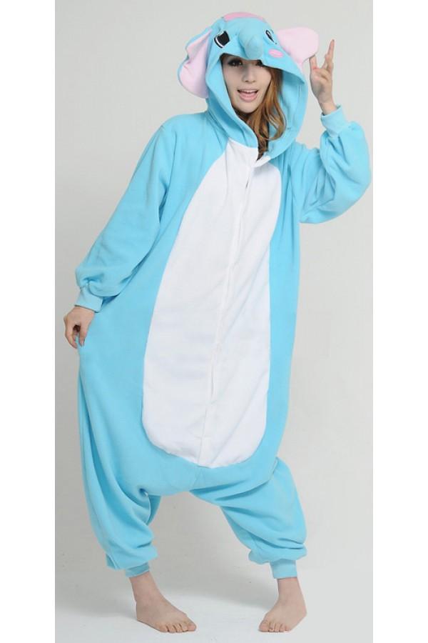 ac0bf3d88 Elephant Halloween Onesie - Animal Onesies Pajamas for Adult & Kids