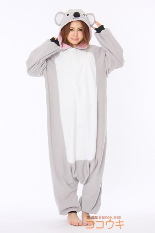 9950116ec5fb Koala Kigurumi Onesie - Animal Onesies Pajamas for Adult   Kids