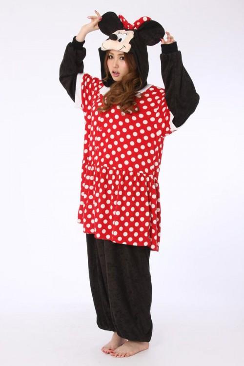 5068311e897f Minnie Mouse Disney Onesie - Animal Onesies Pajamas for Adult   Kids