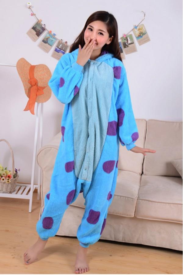 6116207d79f3 Monsters Inc. Sulley Onesie Kigurumi Pajamas - Animal Onesies ...