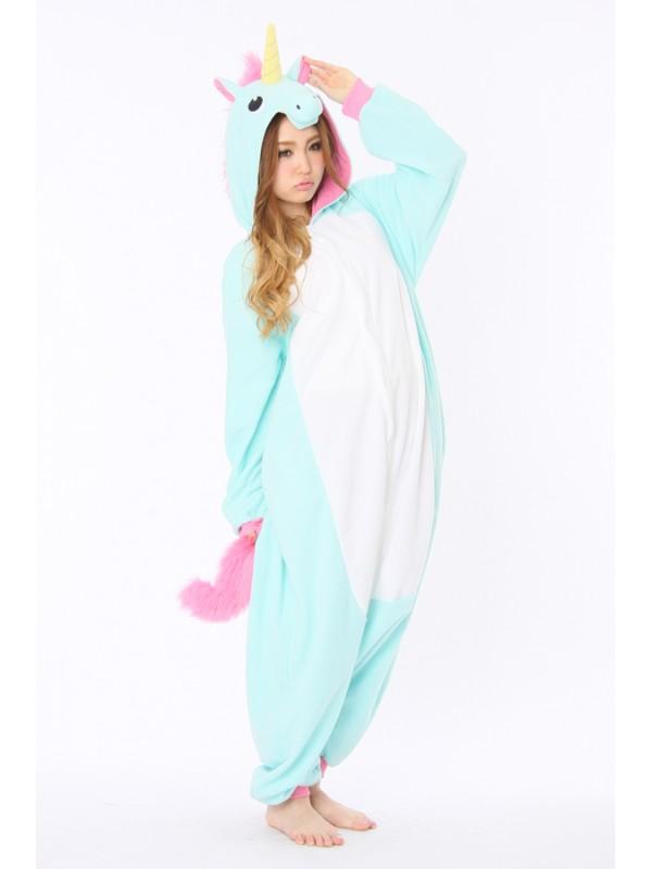 blue unicorn animal onesie kigurumi france animal