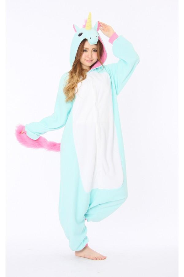 blue unicorn animal onesie animal onesies pajamas for